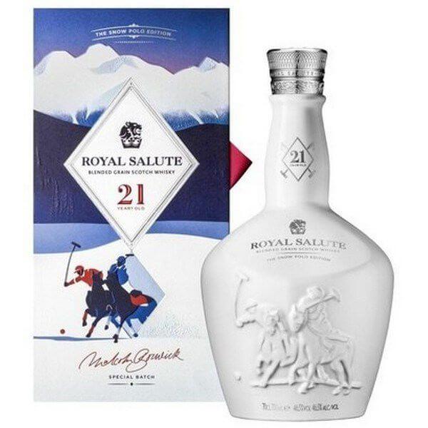 Hình 1. Chivas 21 năm Snow Polo nổi tiếng bởi hương vị đặc biệt cùng nguồn gốc ra đặc biệt