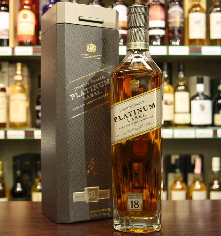Rượu Johnnie Walker Platinum Label 18 năm giá tốt