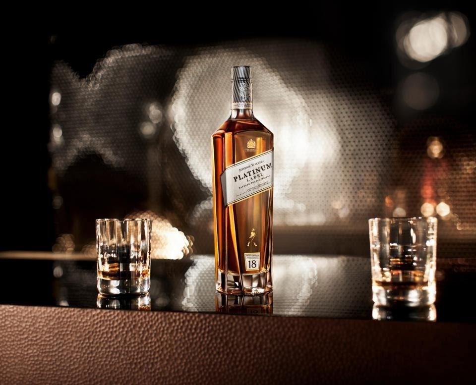 Rượu Johnnie Walker Platinum Label 18