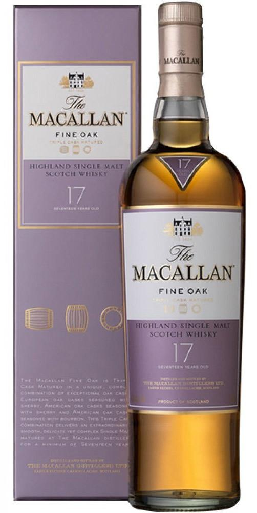 Macallan 17 năm Fine Oak
