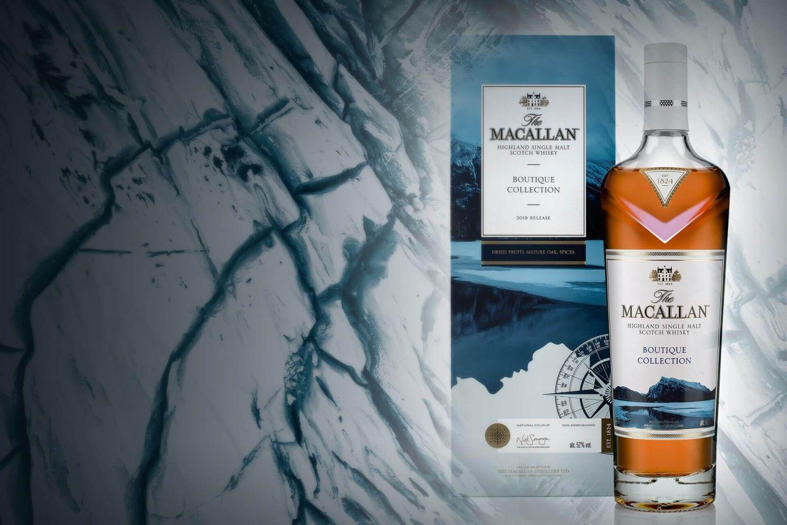 Macallan Boutique Collection là dòng sản phẩm được lấy cảm hứng từ những du khách tham quan