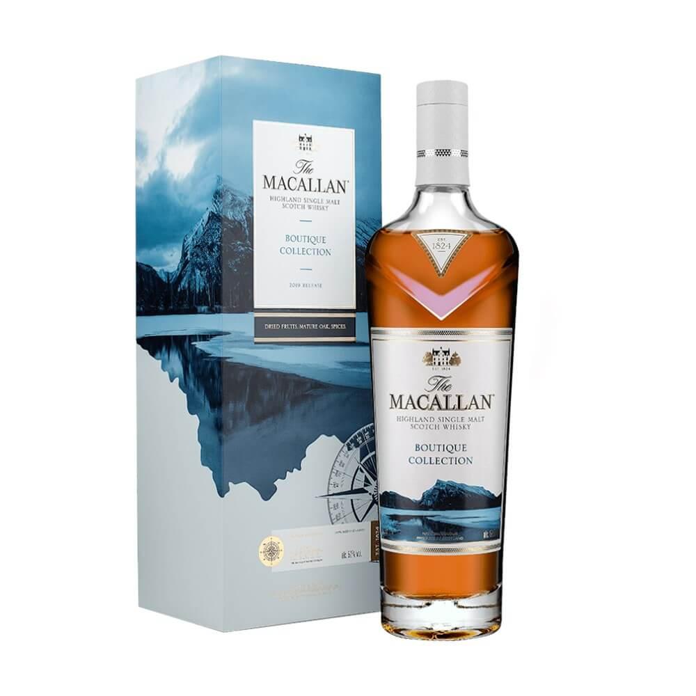 Hộp đựng và cả nhãn chai rượu được thiết kế lồng ghép hình ảnh của The Vermilion Lakes