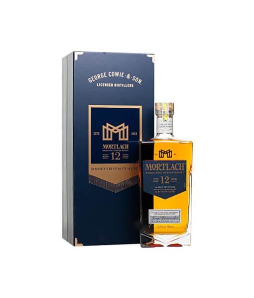 Hình 1. Mortlach 12 Năm 2022 được phối ủ từ 2 loại thùng ủ khác nhau là ủ ex-bourbon và ex-sherry trong khoảng thời gian ít nhất 12 năm cùng quy trình chưng cất độc bản 2.81 lần