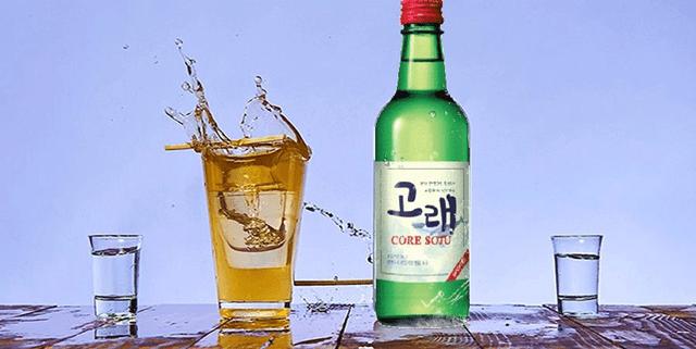 Cách pha rượu Soju