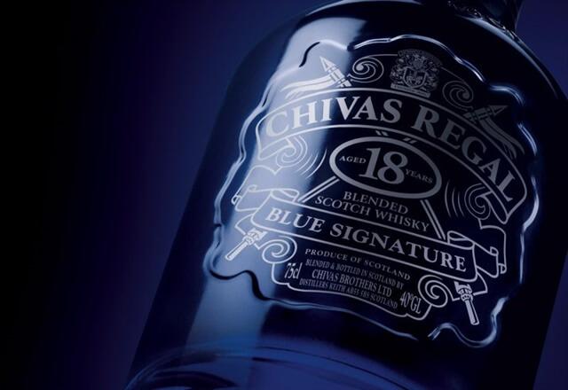 Chivas 18 Blue