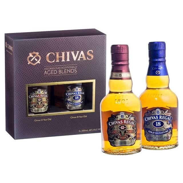 Xuất xứ của dòng rượu Chivas 18 mini
