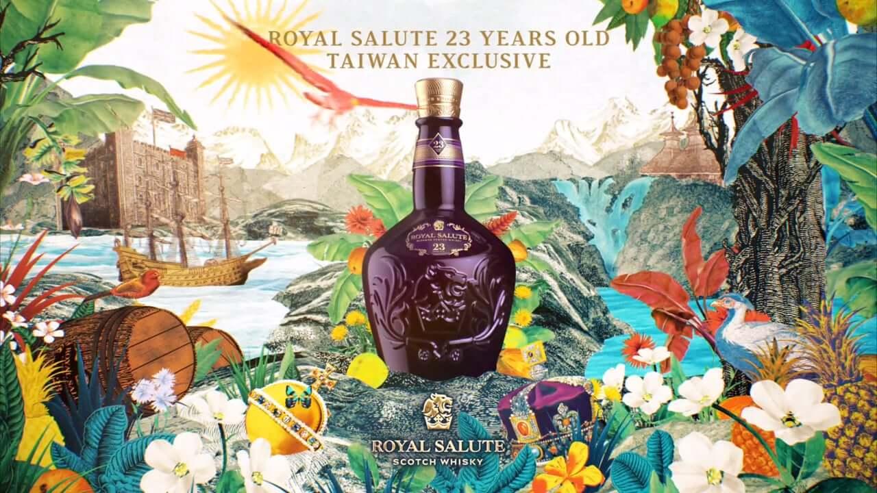 Hình 1. Chivas 23 Royal Salute là sản phẩm độc quyền tại Đài Loan