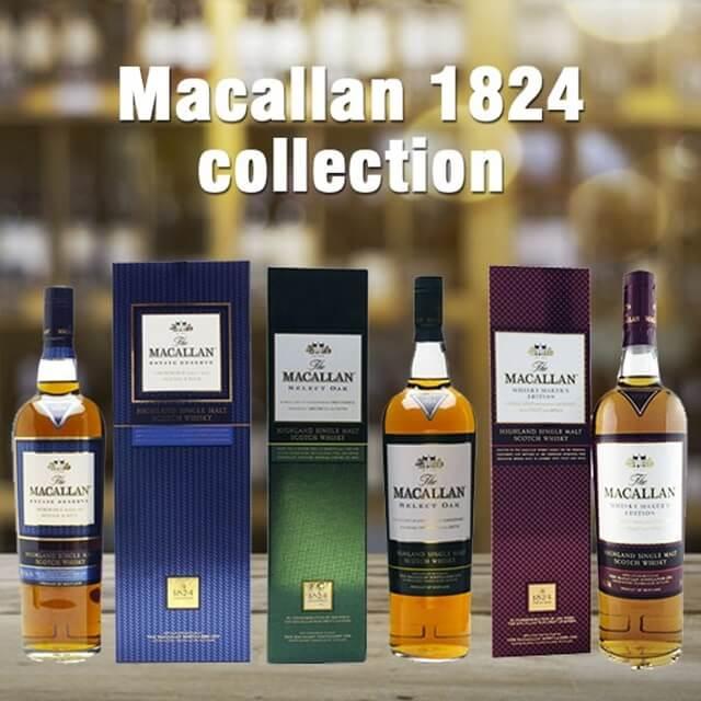 Bộ sưu tập Macallan 1824 Collection có hương thơm tinh tế, vị dịu ngọt