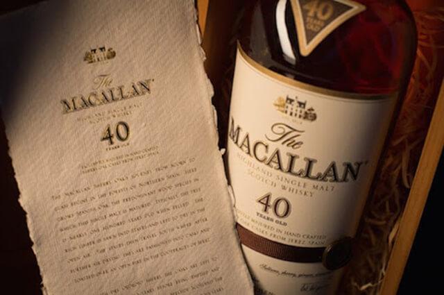 Đậm đà sâu lắng hương vị Macallan 40 năm tuổi phiên bản giới hạn