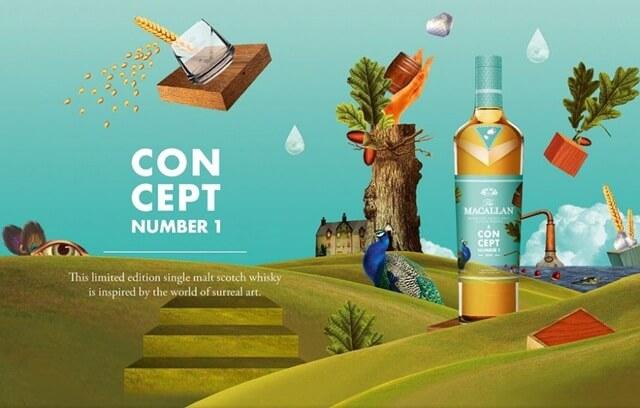 Mua rượu Macallan Concept ở đâu là chính hãng