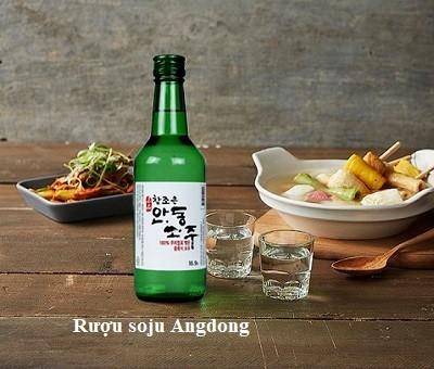 Rượu Soju Andong