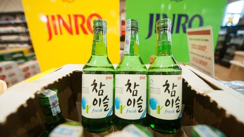 Mua rượu Soju ở đâu