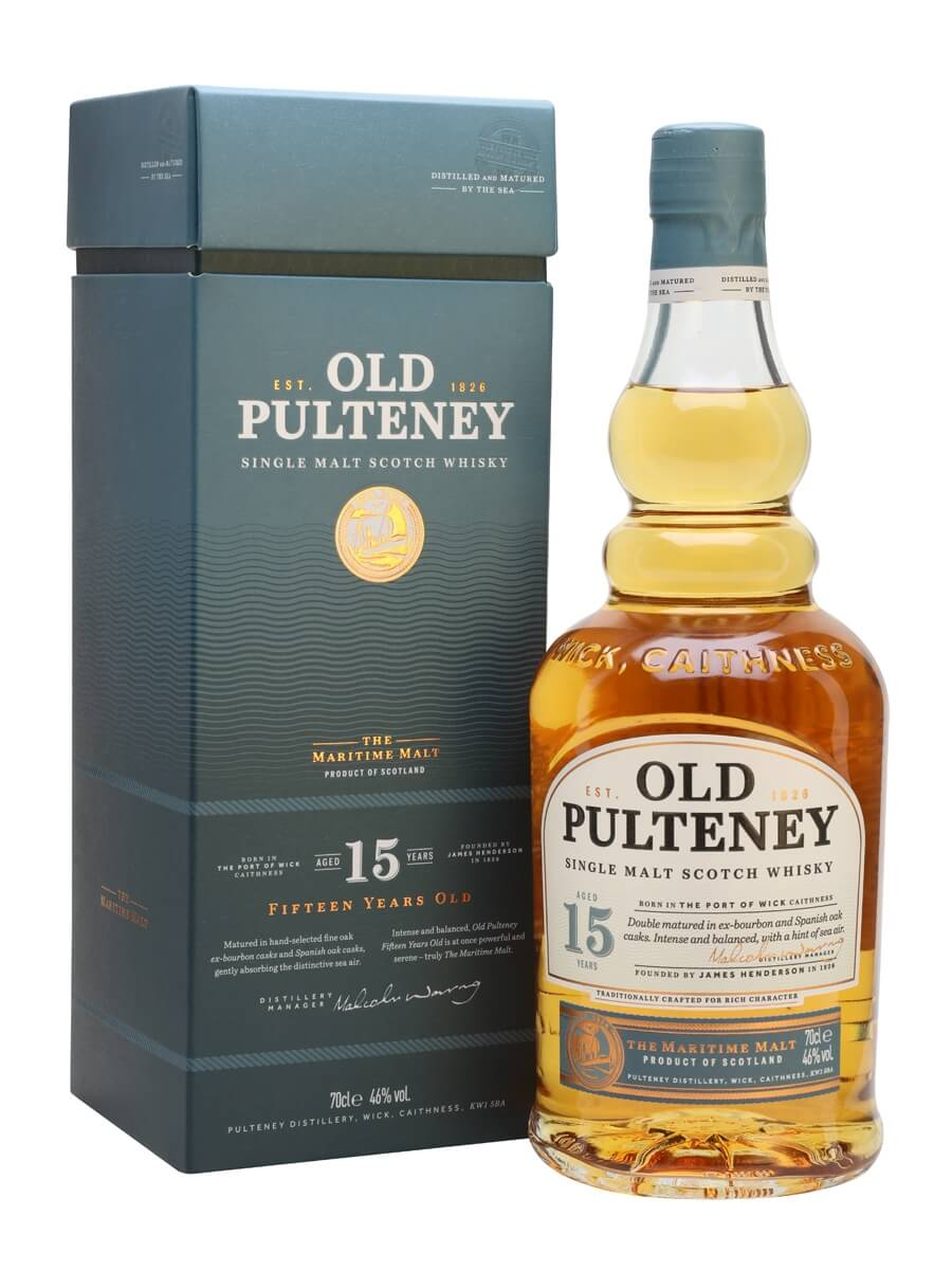 Rượu Old Pulteney 15 năm tuổi