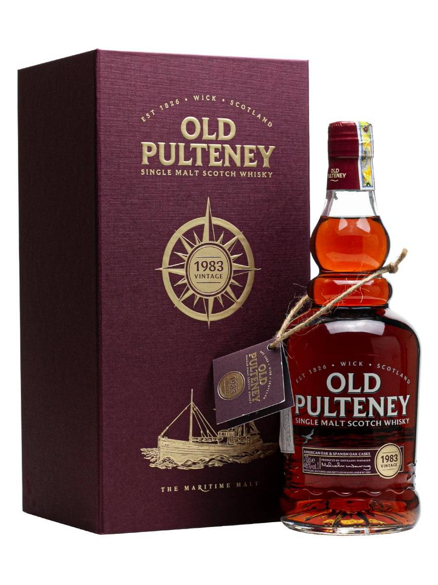 Rượu Old Pulteney 1983 Vintage