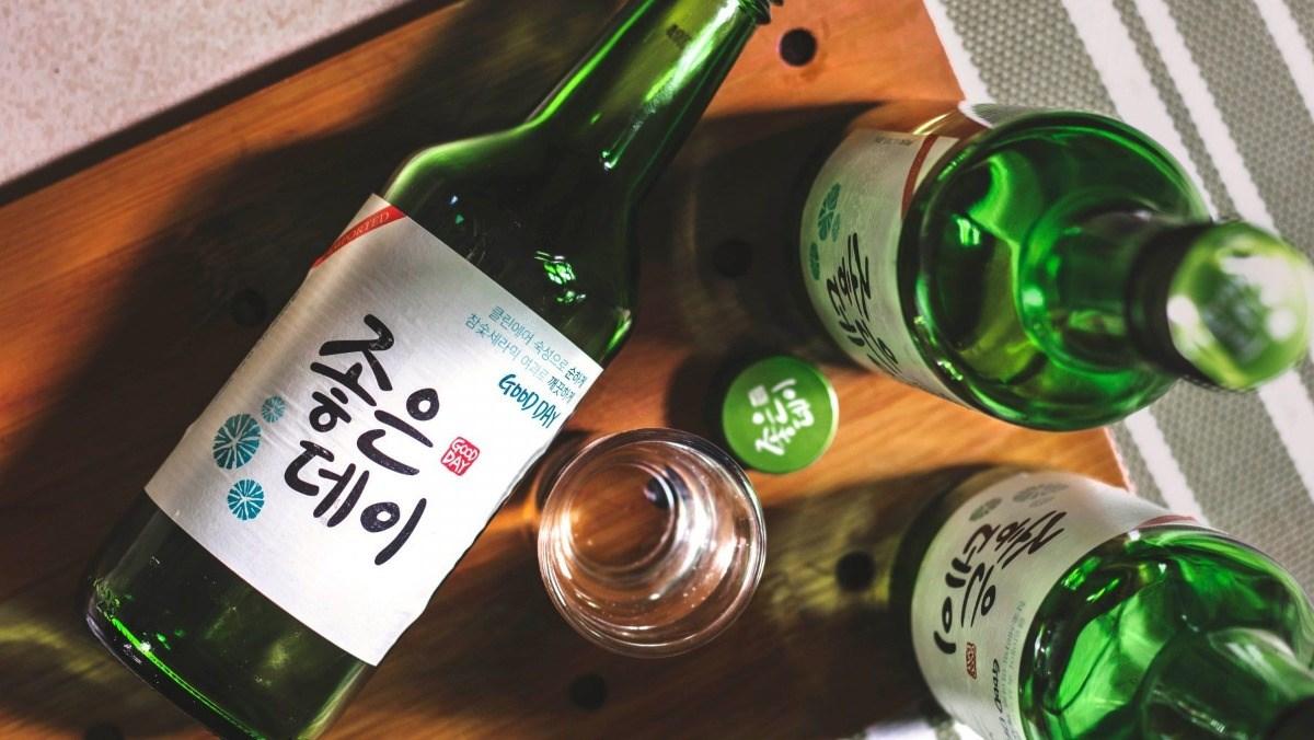 Rượu soju là cái tên quen thuộc tại thị trường Việt Nam