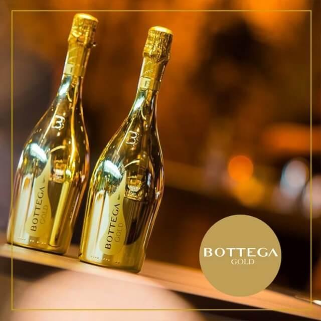 Rượu vang nổi Bottega Gold