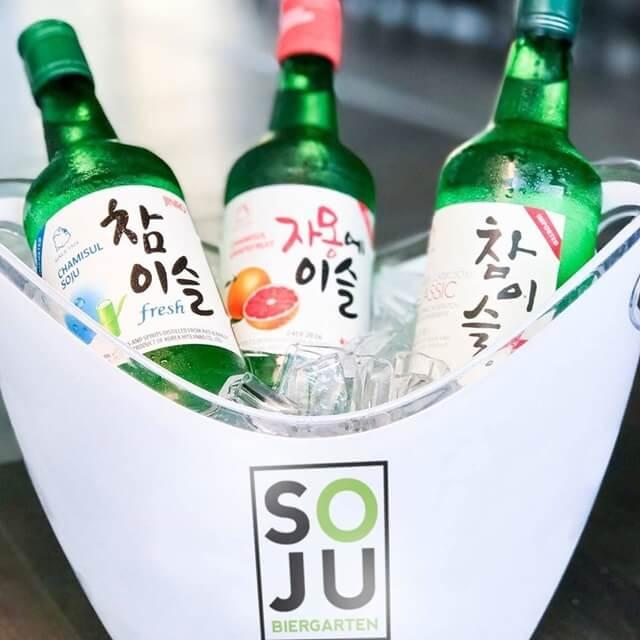 Rượu Soju ướp lạnh