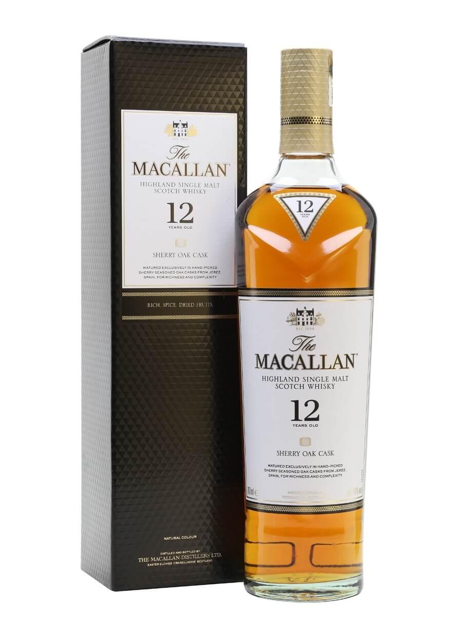 Rượu Macallan 12 Sherry Oak