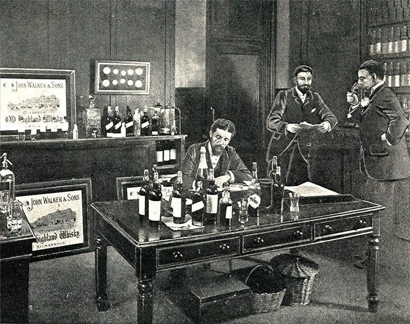 Hình 1. Lịch sử thương hiệu Johnnie Walker