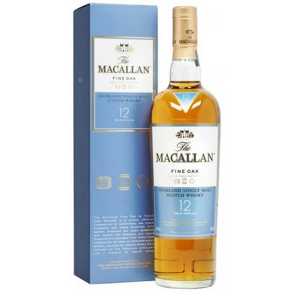 Rượu Macallan 12 năm Fine Oak