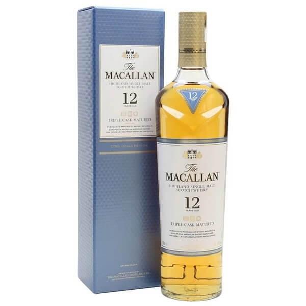Macallan 12 năm Triple Cask