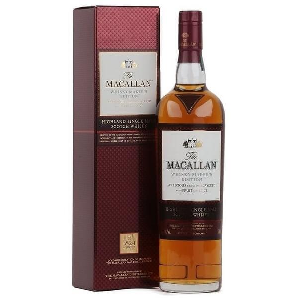 Rượu Macallan 1824 Whisky Maker's Edition Đỏ