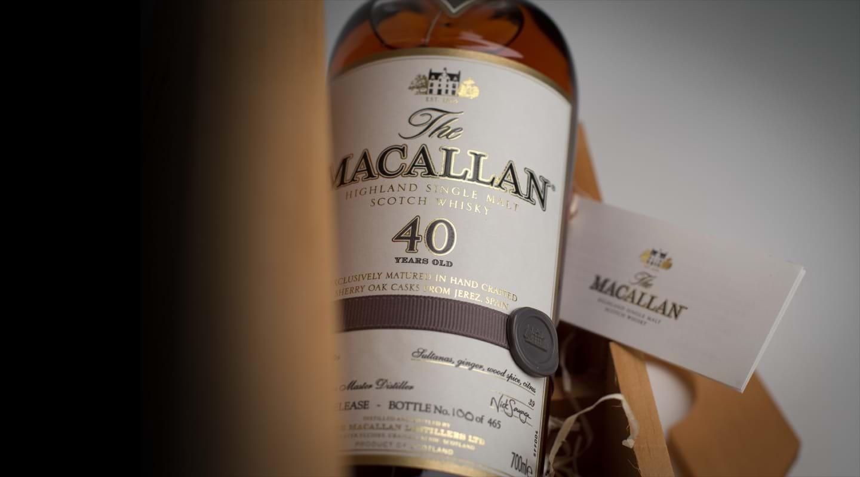 Mua rượu Macallan 40 năm