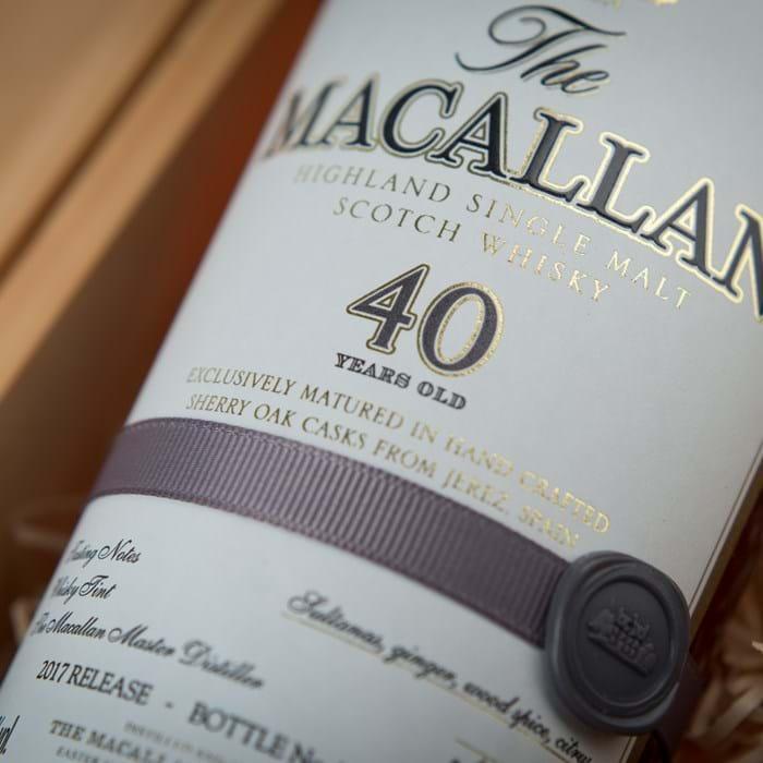 xuất xứ rượu Macallan