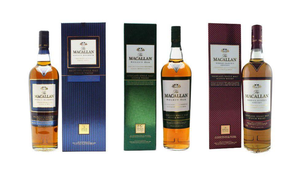 Macallan 1824 Collection
