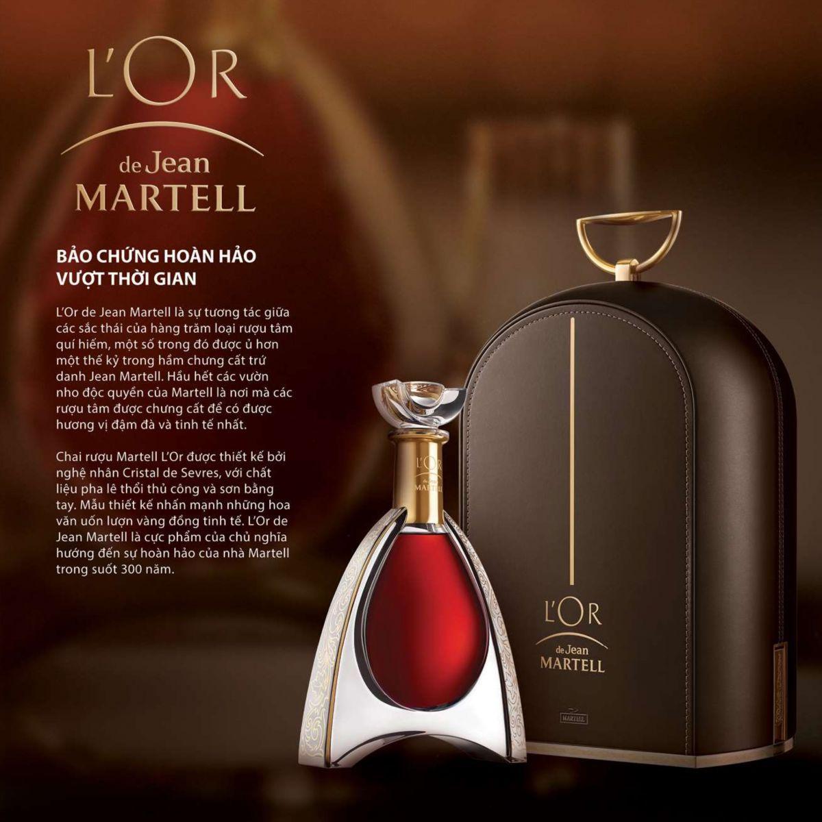 Rượu Cognac Martell Lor