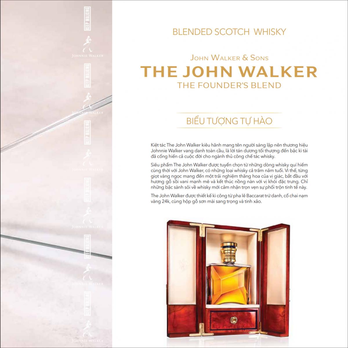 THE JOHN WALKER tại RuouTayChinhHang.com