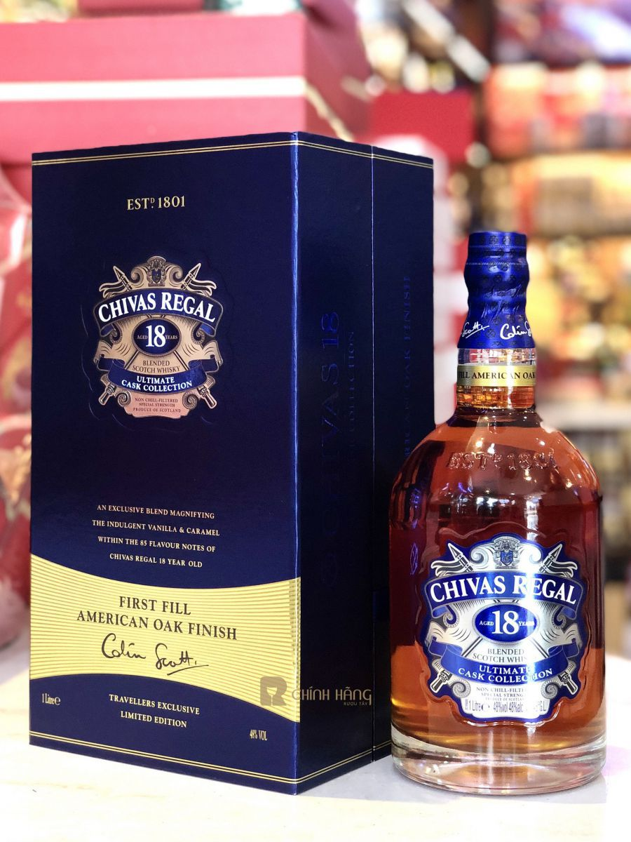 Chivas 18 Ultimate Cask Collection