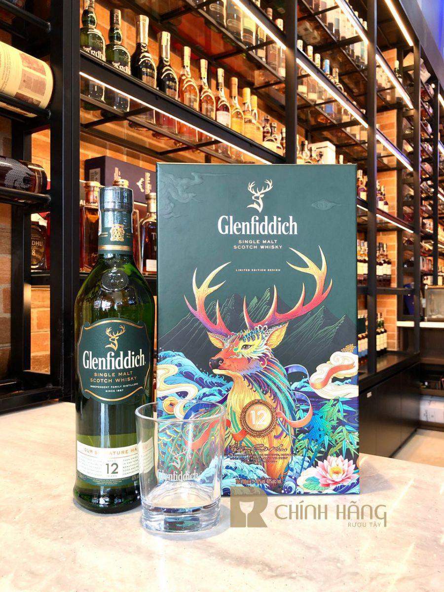 Rượu Glenfiddich 12 năm - Hộp quà tết 2020