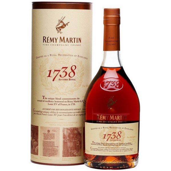 RƯỢU COGNAC REMY MARTIN 1738 ACCORD ROYAL