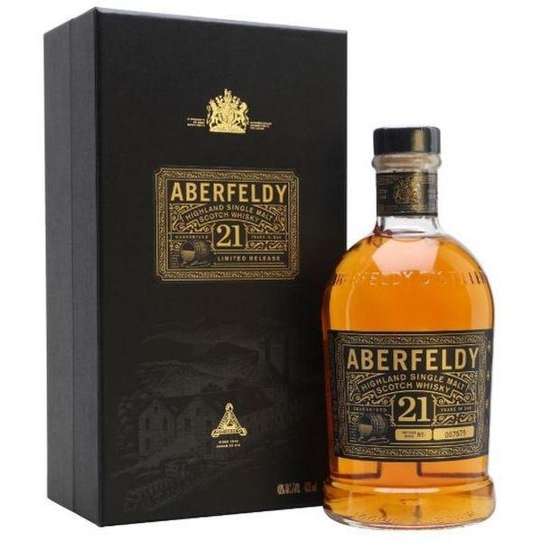 Aberfeldy 21 Năm (Hộp Gỗ)