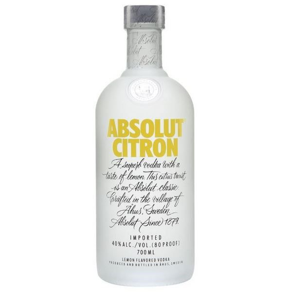 Absolut Vodka Citron (Chanh)