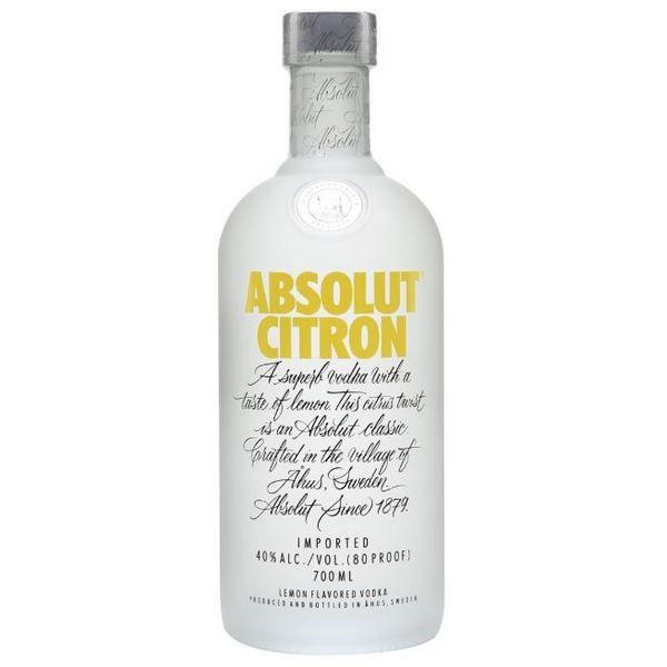 Absolut Vodka Citron (Chanh) 750 ml