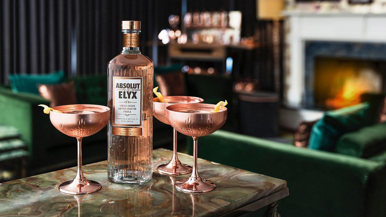 Rượu Absolut Vodka Elyx