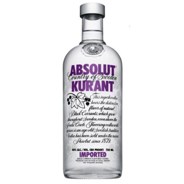 Absolut Vodka Kurant (Nho)