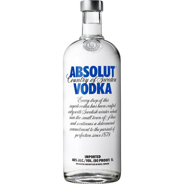Absolut Vodka 1000 ml