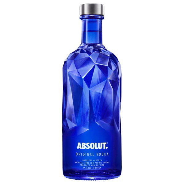 Absolut Vodka Blue Facet