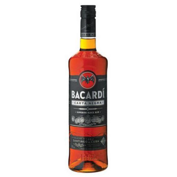 Bacardi Superior Carta Negra Dark Rum