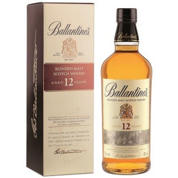 Ballantine's 12 Năm Mẫu Cũ