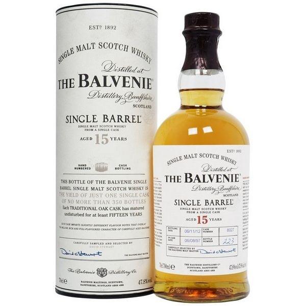 Balvenie 15 Năm Single Barrel