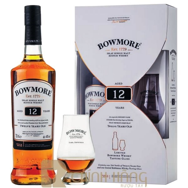 Bowmore 12 Năm Hộp Quà