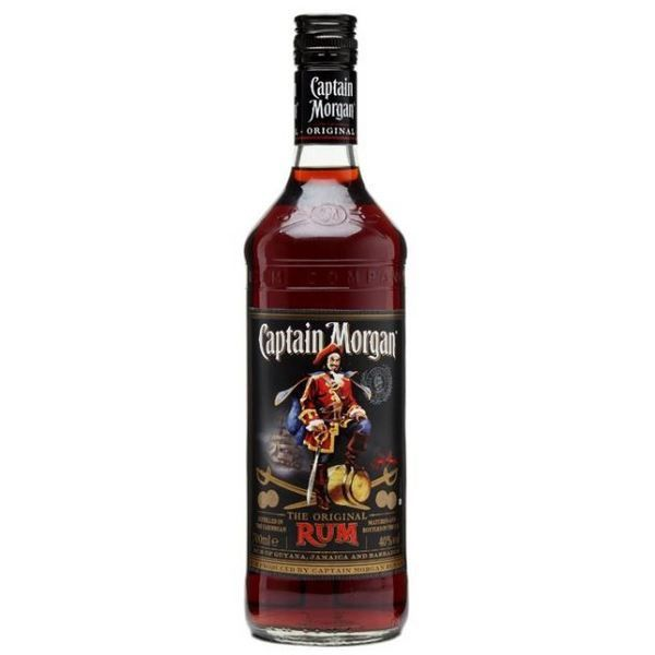 Captain Morgan Original Black