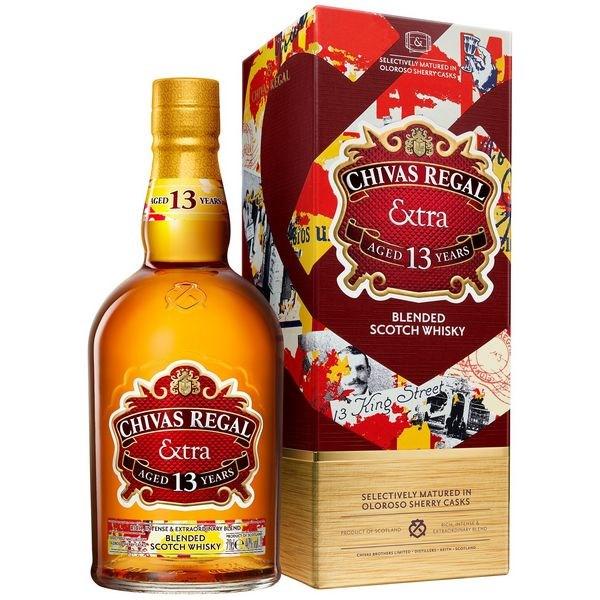 Chivas 13 Extra Oloroso Sherry Casks (Đỏ)