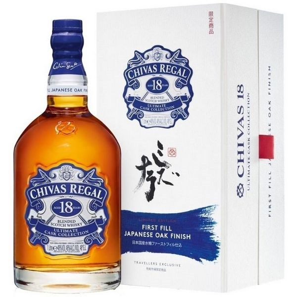 Chivas 18 Năm Ultimate Cask Collection Japanese Oak (Nhật)