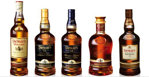 Các sản phẩm Dewar's