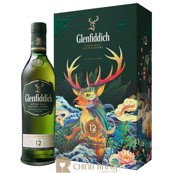 Glenfiddich 12 Năm - Hộp Quà Tết 2020